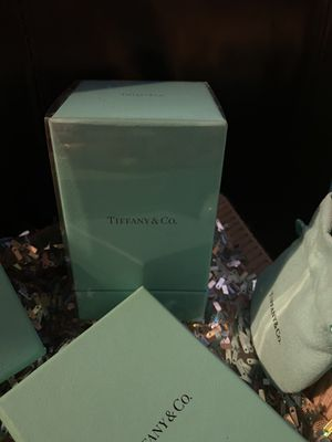 Tiffany and Company small perfume bottle in box new never opened never used for Sale in La Porte, TX