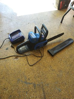 Kobalt chainsaw and trimmer 40 volt for Sale in Lake Elsinore, CA