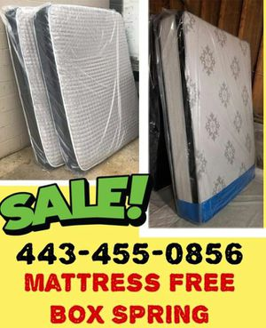 Mattress FREE BOX SPRING SAME DAY DELIVERY for Sale in Washington, DC