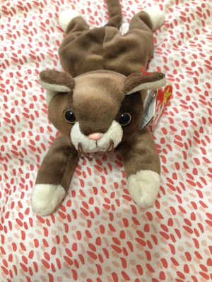 Beanie Baby 1997 Pounce The Cat Authentic for Sale in Brandon, FL