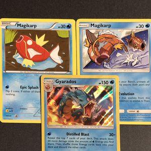 Gyarados 30/181 HOLO 3 Pokemon Card lot for Sale in Malden, MA
