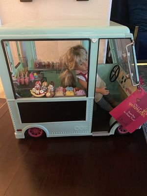 Our generation sweet stop ice cream truck kids toy for Sale in Hillsboro, OR