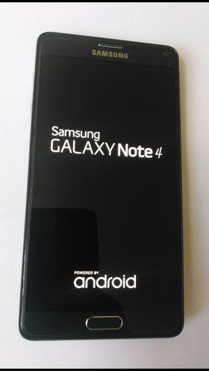 SAMSUNG GALAXY NOTE 4 UNLOCKED ANY CARRIER USA MEXICO SOUTH AMERICA GLOBAL for Sale in Los Angeles, CA