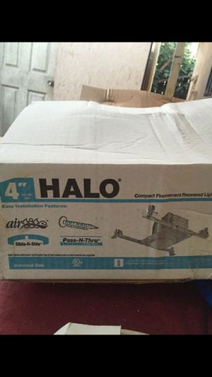 Halo Light Fixtures,Trim for Sale in Los Angeles, CA