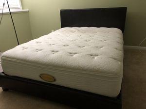 Mattress + Bed Frame for Sale in Eden Prairie, MN