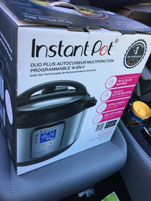 Instant Pot 9-in-1 Duo Plus 8 qt. Programmable Electric Pressure Cooke for Sale in Buena Park, CA