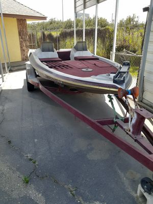 20 foot Organizer bassboat first of the gambler hulls for Sale in Modesto, CA