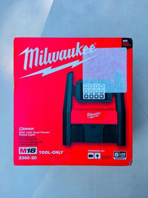 New Milwaukee M18 LED Dual Power Flood Light for Sale in Modesto, CA