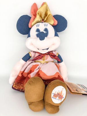 IN HAND! Disney Minnie Mouse The Main Attraction Big Thunder Mountain Plush Halloween for Sale in Yorba Linda, CA