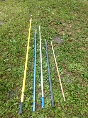 Painting poles 23' -12'- 8-' 4' for Sale in Berwick, PA