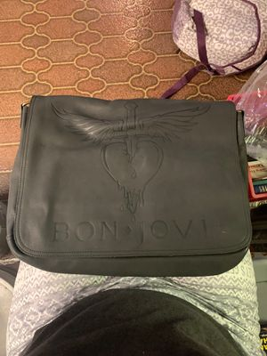 Limited Edition Bon Jovi The Circle World Tour 2010 VIP Messenger Bag for Sale in Dyer, IN