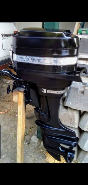 VINTAGE 1967 MERCURY 200 20 HP OUTBOARD BOAT MOTOR - $800 OBO for Sale in Highland Haven, TX