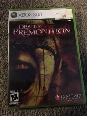 Deadly Premonition xbox 360 for Sale in Lemoore, CA