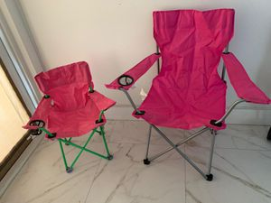Beach Chair X2 And Camper Tent Dome 3 Person for Sale in Key Biscayne, FL