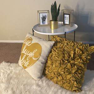 Pillows + Table for Sale in Indianapolis, IN