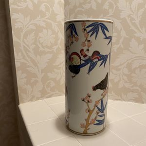 Beautiful Print Vase for Sale in Columbia, MD