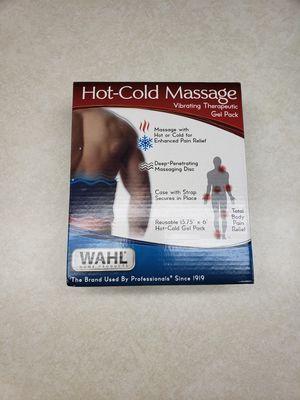 Hot/cold vibrating massage gel pack for Sale in Entiat, WA