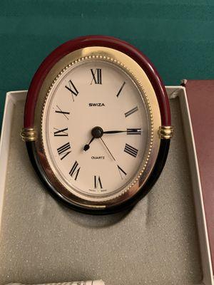Swiss quartz table/desk top alarm clock for Sale in Phoenix, AZ