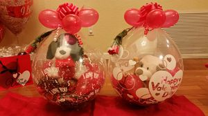 Valentine's Day Stuffed balloons! for Sale in Nashville, TN