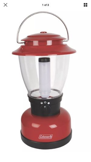 New COLEMAN Classic XL LED Lantern Red 400 Lumens for Sale in Yeadon, PA
