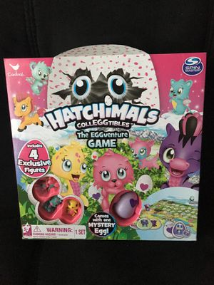 Hatchimals CollEGGtibles Board Game with Figures for Sale in Greenville, SC