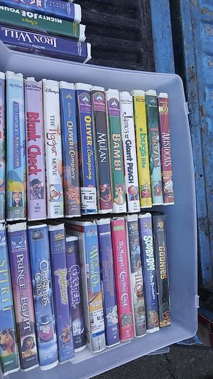 Vhs disney for Sale in Tacoma, WA