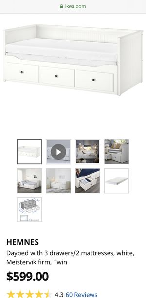 IKEA HEMNES DAY BED for Sale in Melrose Park, IL