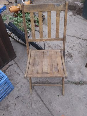 Antique wooden folding chairs for Sale in Price, UT