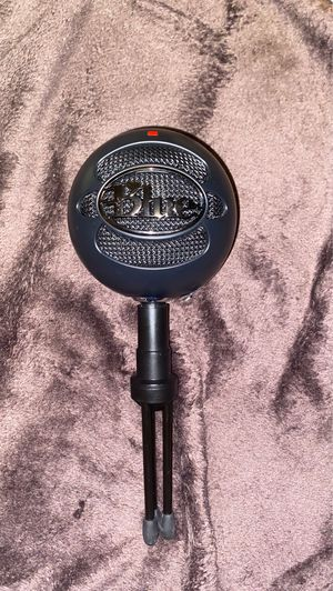 blue snowball ice mic for Sale in Parma Heights, OH