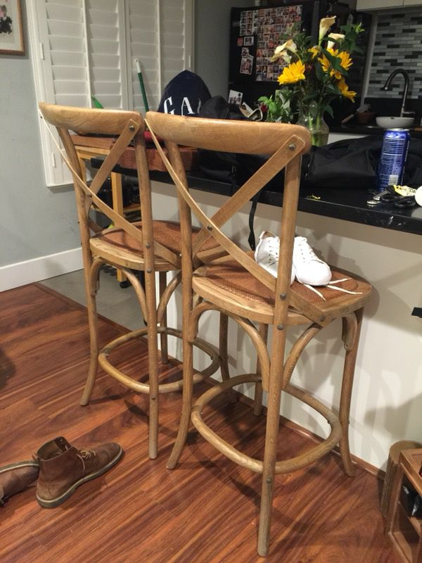 Outstanding Williams Sonoma Bistro Counter Stools For Sale In Sacramento Alphanode Cool Chair Designs And Ideas Alphanodeonline