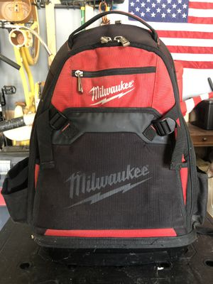 Milwaukee technician backpack for Sale in Visalia, CA
