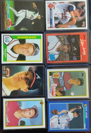 Steve Avery Baseball Card Collection.. for Sale in Hazard, CA
