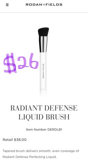 *NEW SEALED* Rodan and Fields DERMACOSMETICS RADIANT DEFENSE LIQUID BRUSH for Sale in Arcadia, CA