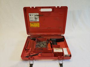 Hilti DX36M Powder Actuated Nail Gun Piston W/Case & Extras Accessories for Sale in Glenview, IL