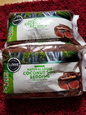Coconut bedding $20 each or both for $35. Giant size huts $15. each for Sale in Portland, OR