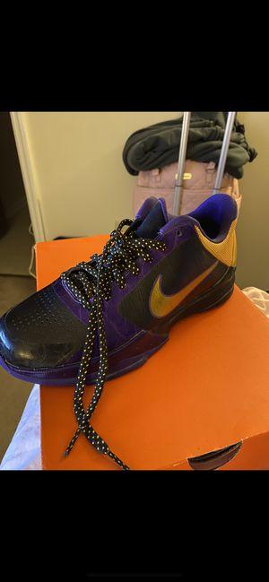 Nike Kobe 5's size 6 kids women 8 for Sale in Severn, MD