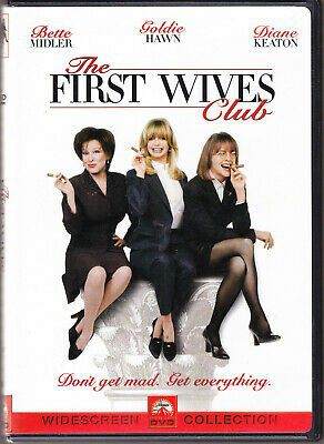 The First Wives Club (DVD, 1998) Bette Midler Goldie Hawn Diane Keaton for Sale in Los Angeles, CA