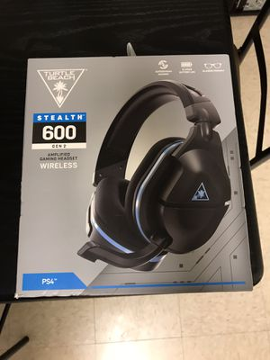 PS4 Turtle Beach Wireless and PS4 Gold Wireless for Sale in Washington, DC