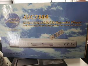Dvd ,Vcr CD karaoke player for Sale in Hewlett, NY