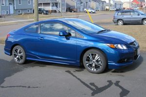 Blue 2012 honda civic coupe for Sale in BVL, FL