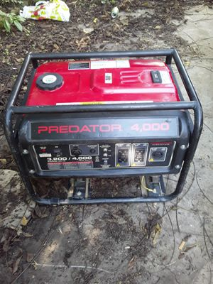 Predator generator for Sale in Columbus, OH