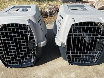 TWO (2) Petmate Ultra Vari Kennel 24, Suitable For 15-20 Lbs Pets for Sale in Henderson,  NV