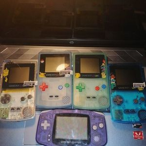 Gameboy Color And Advance Refurbished With Shells ( Pokemon Editions) for Sale in Nipomo, CA