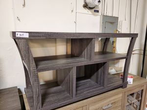 TV Stand up to 55in TVs, Grey for Sale in Fountain Valley, CA