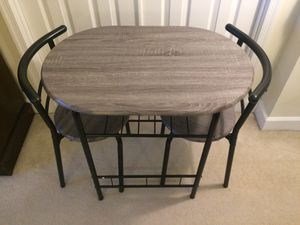 Dining set (table and 2 chairs) for Sale in Arlington, VA