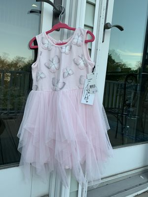 Gorgeous Butterfly Dress Designer Size 5 girls for Sale in Beverly, MA
