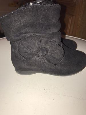 Toddler black boots for Sale in Glendale, AZ