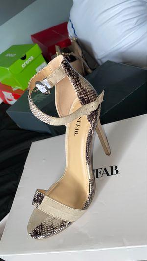 Snakeskin heels for Sale in Berwyn, IL