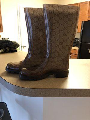 Gucci rain boots 36 women for Sale in Ellicott City, MD