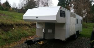 Custom built, heavy duty toy hauler 30' for Sale in Gig Harbor, WA